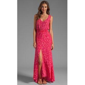 Revolve Karina Grimaldi Jamaica Maxi Slit Dress